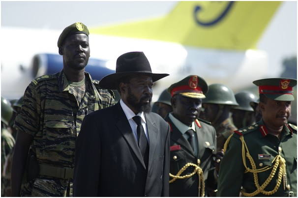 Setting a bad example: President Salva Kiir has denounced corruption in South Sudan but a new report shows he's been leading the plunder of the young nation's wealth. (Photo: Aljazeera English/Flickr via https://www.flickr.com/photos/aljazeeraenglish/)