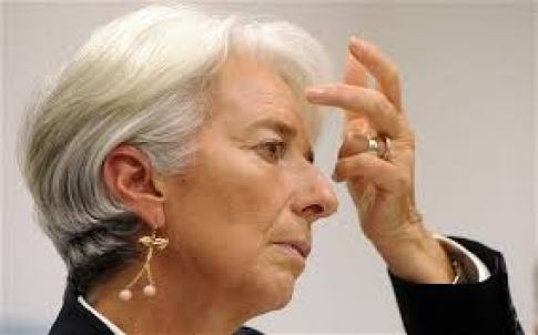 Christine Lagarde of the IMF