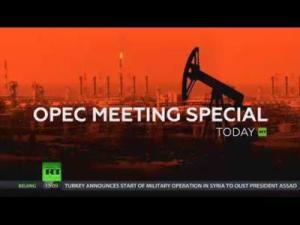 Russian Television visual of the OPEC of yesterday's OPEC meeting