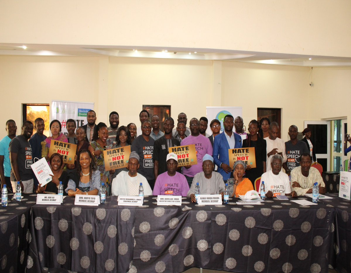 Savannah Centre Throws Responsibility Jigsaw for 'Violence Without Machete' Back to the Nigerian Media