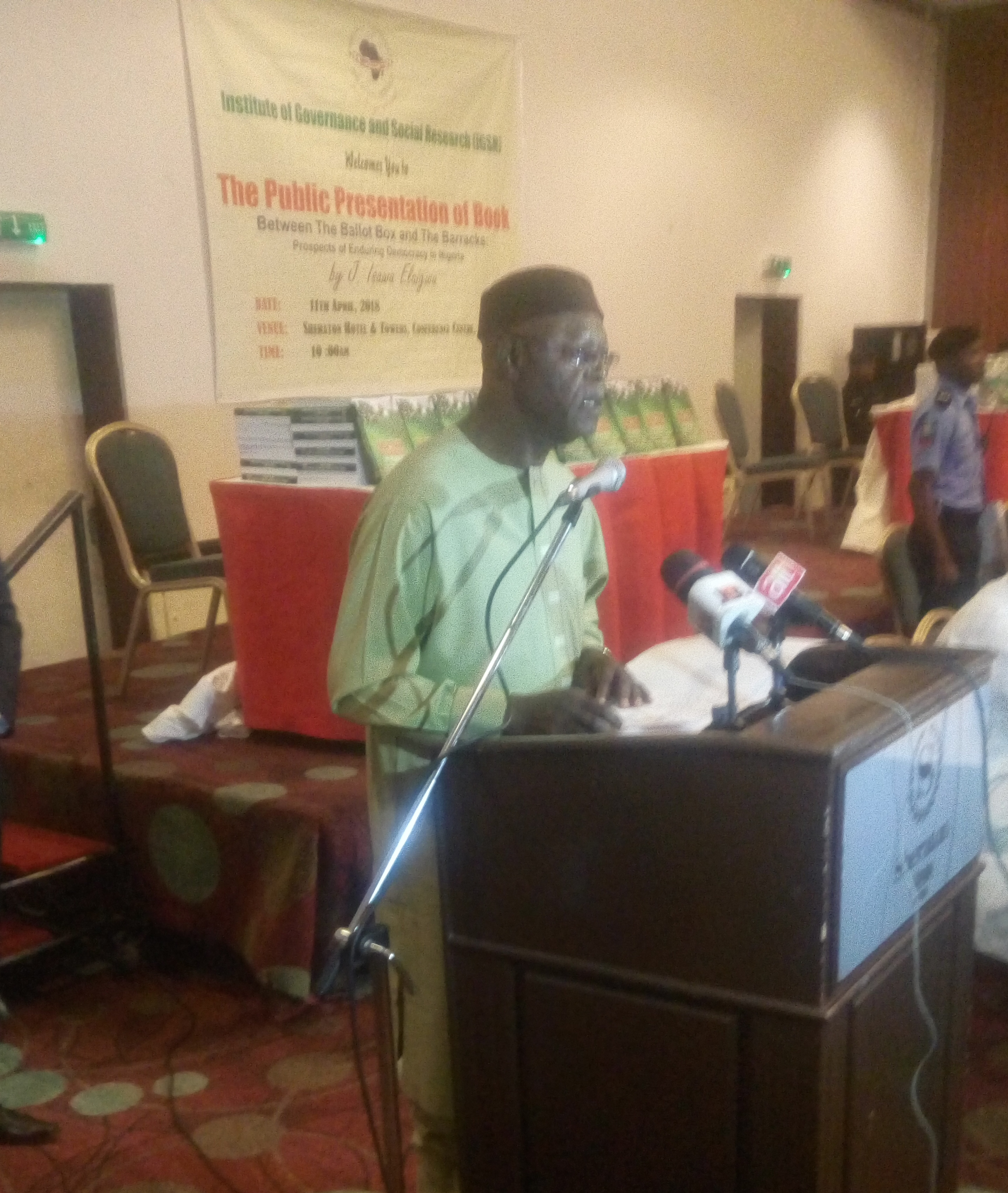 Emirs, Retired Generals, Intellectuals and Governors Engage Prof Elaigwu's Newest Book