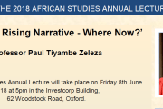 Oxford University Returns to 'Africa Rising' Debate
