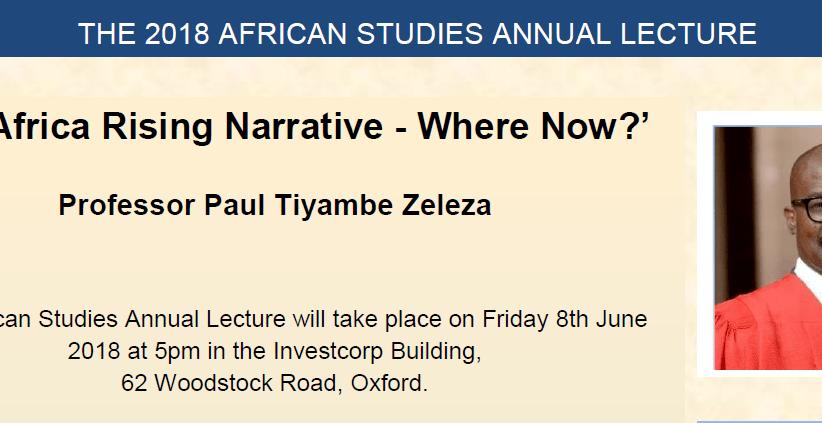 Oxford University Returns to 'Africa Rising' Debate