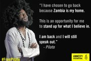 Zambian Government Clamps Radical Musician in Detention; Amnesty, Others Kick