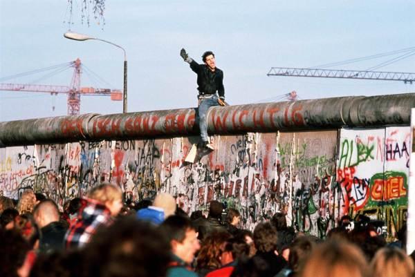 Berlin Wall Down