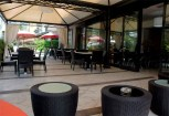 Hotel la Perla Riva del Garda terraza
