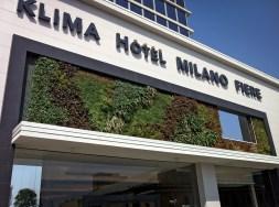 Hotel Klima Milán entrada