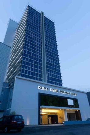 Hotel Klima Milán exterior