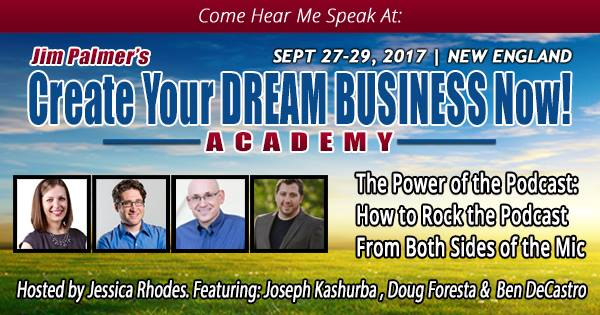 IC023: Live Panel Discussion at Dream Business Academy 2017