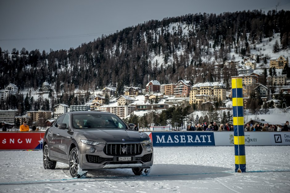 Maserati Levante on the polo field - Snow Polo World Cup St Moritz 2018 (7).JPG