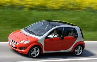 10 Jahre smart: smart forfour 10 years of smart: smart forfour