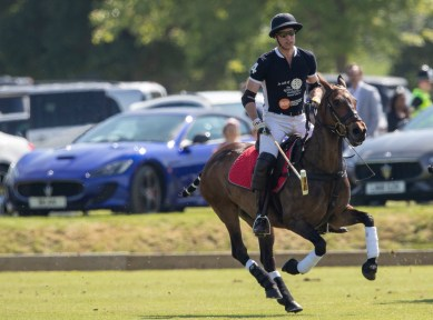 Maserati Royal Charity Polo Trophy 2018 - HRH The Duke of Cambridge