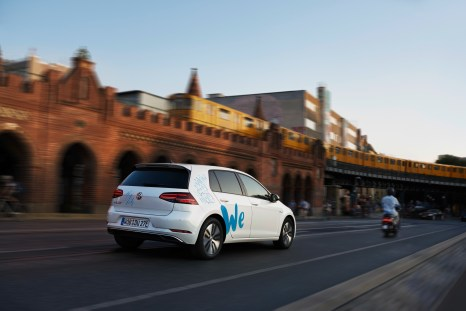 WeShare starts with 1500 e-Golf.