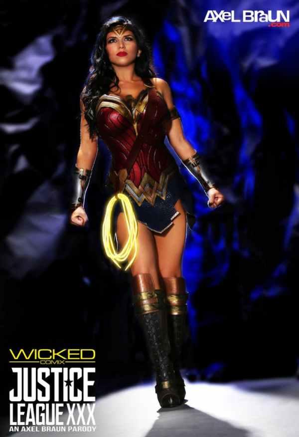 Romi Rain XXX Wonder Woman