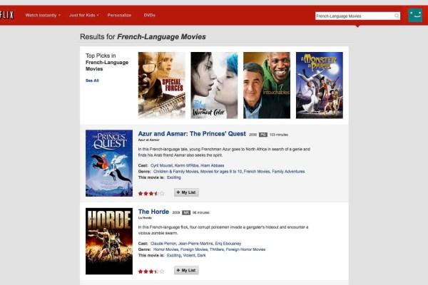 Bypass Netflix - HD movies french language