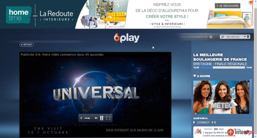 direct M6 live stream hors France, bypass geo blocage,unblocked