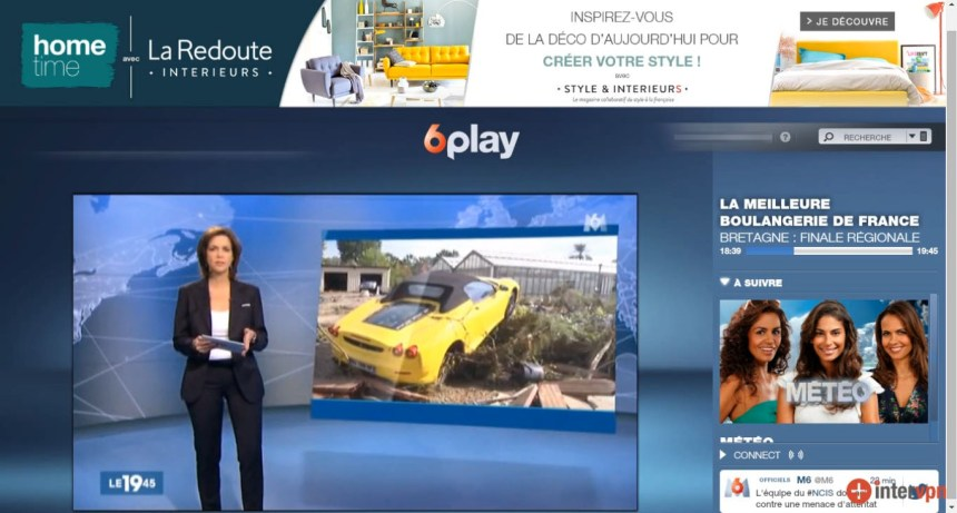 direct M6 live stream hors France, contourner geo blocage