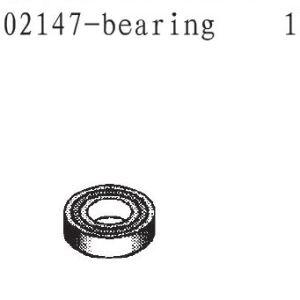 002147 - Rolling bearing 10x5x4 1stk 1