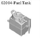 02004 - Fuel tank complete set*1PC 2