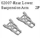 02007 - Rear lower arm*2PCS 9