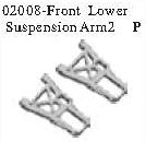 02008 - Front lower arm*2PCS 10