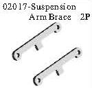 02017 - Arm's strengthen slice*2PCS 10
