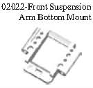 02022 - Front arm holder*1PC 8