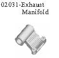 02031 - Exhaust connector 1