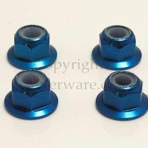 02190/102049 - Aluminum Nut M4 4pcs 5