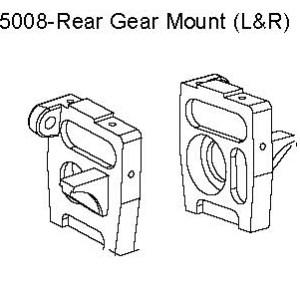 05008 - L & R Rear Gear Mount 8