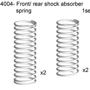 054004 - Front Shock Absorber Spring Rear Shock Absorber Spring 2