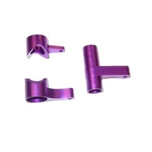 081057 - Alum.Steering Bush/Servo Saver Complete(purple) 2