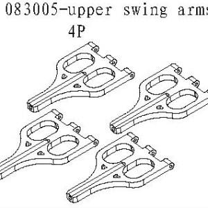 083005 - Upper swing arms 4stk 4