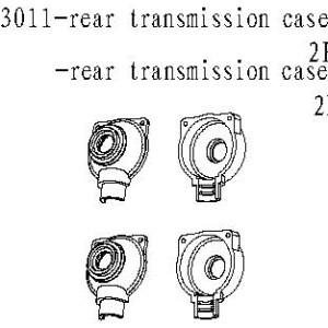 083011 - Rear transmission case A & B 2stk 10