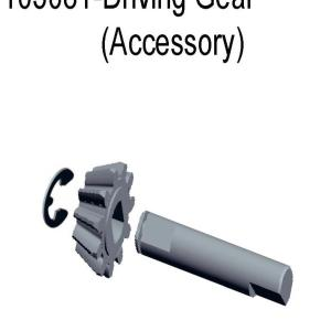 11258/103081 - Main driving gear - cone gear shaft 1sæt 7