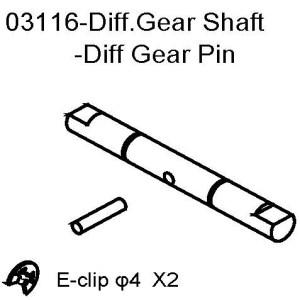 103116 - Diff gear shaft 1