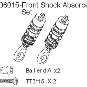 106015 - Front Shock Absorber Set 4