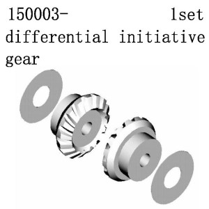 150003 - DifferenTial Initiative Geat Set 4