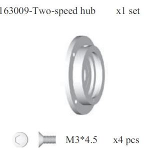 163009 - Two-speeds gear set 5