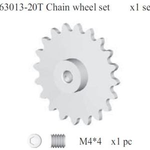 163013 - 20T chain wheel set 8