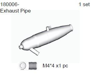 180006 - Exhaust pipe set 5