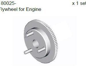180015 - Engine fly wheel set 8