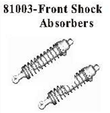 81003 - Metal front shock set 4