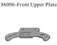 86006 - front upper plate 9