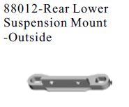 88012 - Rear Lower Suspension Mount -Outside 4