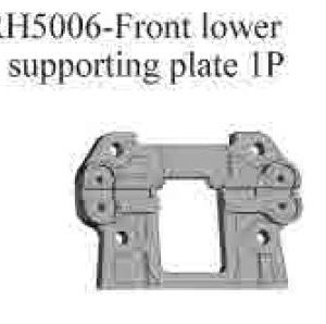 RH5006 - Front lower supporting plate 1p 6