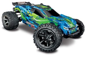 67076-4-Rustler-4x4-VXL-Green-3QTR-FRONT