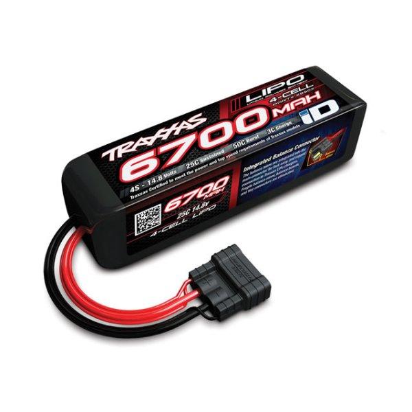 Traxxas LiPo Battery 14.8V 25C 6700mAh - iD 1