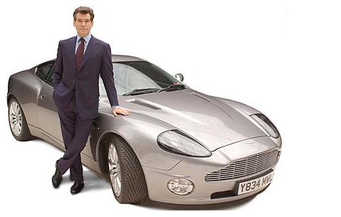 Pierce Brosnan – Owns an Aston Martin Vanquish