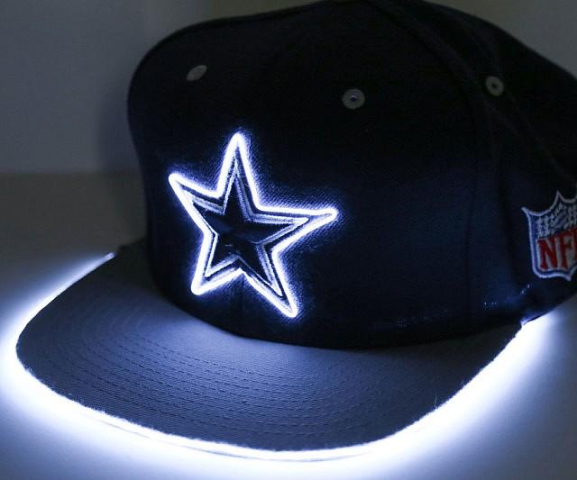 Light Up Sports Hat  INTERWEBS
